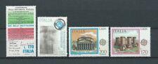 ITALIE - 1978 YT 1339 à 1340 et 1351 à 1352 - TIMBRES NEUFS** MNH LUXE