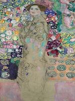 gustav klimt canvas 80cm   print painting art vintage