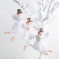 Plush Angel Pendant Christmas Ornament Tree Closet Hanging Ornament Xmas Deco_ti