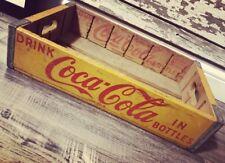 Vintage 1951 Coke Coca Cola Soda Wood Pop Case Crate Marshall Town Iowa
