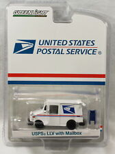 Greenlight United States Postal Service USPS LLV Mail Truck w/ Mailbox