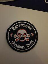 Outlaws Mc Patch Aufnäher Aufbügler