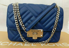 Michael Kors Genuine Peyton Soft Leather Quilted Flap Crossbody Bag RP£390