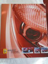 Renault Scenic & Grand Scenic brochure Jan 2005