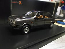 LANCIA DELTA SELENE semi COVERTIBLE CABRIO DARK GREY 1983 PremiumX Ixo 1:43
