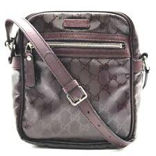 GUCCI GG Implementation Pochette Crossbody Shoulder Bag 233268
