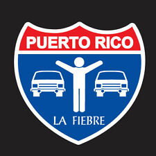 PUERTO RICO CAR DECAL STICKER LA FIEBRE  #95