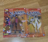 Marvel Legends Retro Gambit And Storm