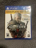 The Witcher 3 Wild Hunt Complete Edition - PlayStation 4 PS4 Factory Sealed