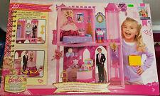 Mattel W5538 Barbie - Prinzessinen Schloss mit Möbeln Neu OVP