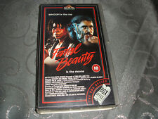 VHS VIDEO TAPE..COLLECTABLE........FATAL BEAUTY..........(18).free postage...