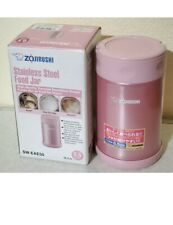 Zojirushi SW-EAE50-PS 0.5 Liter Stainless Steel Food Jar Container Shiny Pink