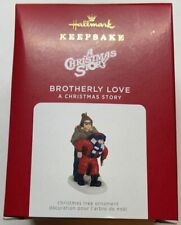 Hallmark 2021 A Christmas Story Brotherly Love Ornament New with Box