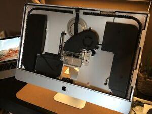 """Apple iMac 27"""" 2015 5K Rear case house + speaker, fan, antennas, cam, mic"""