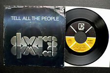 """7"""" The Doors - Tell All The People - USA Elektra w/ Pic"""