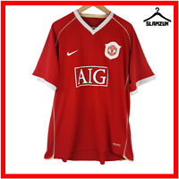Manchester United Football Shirt Nike XL Home Red Soccer Jersey 2006