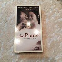 The Piano 1992 VHS Holly Hunter Harvey Keitel Sam Neill