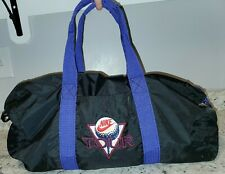 Vintage Nike Golf Duffle Bag Black and Purple