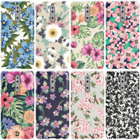 DYEFOR FLOWERS FLORAL COLLECTION PRINT PHONE CASE COVER FOR NOKIA
