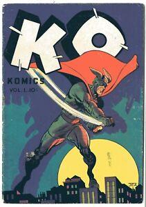 Ko Comics    # 1      VG     October 1945    See photos