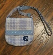 NCAA North Carolina Tar Heels Spirit Ready Purse Bag Shoulder Strap Blue White