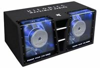 Hifonics Maxximus MXZ 12 Dual-Doppel-Bandpass 2 x 30 cm Sub 2000 Wrms 2x4 Ohm