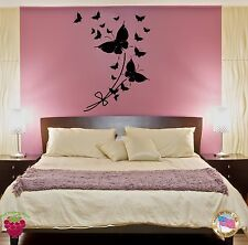Wall Sticker Butterfly Cool Modern Decor for Bedroom z1413