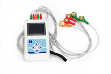 CONTEC 3 Channel ECG HOLTER ECG/EKG Holter System,24h recording monitor,Software