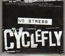 (D908) Cyclefly, No Stress - DJ CD