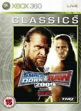 7451 // SMACK DOWN VS RAW 2009 JEU CONSOLE XBOX 360 NEUF