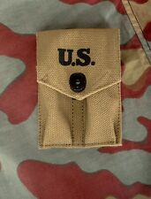 US porta caricatori Colt 1911A1 tela, WW2 M1923 Colt ammo pouch magazine pocket