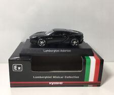 Kyosho 1/64 Lamborghini Asterion LPI 910-4 Black Diecast Car Model