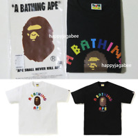 * A BATHING APE Men's COLLEGE nanoblock TEE 2color From Japan New