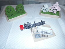 Ho Scale Promotex Freight Liner Cab Over Auto Carrier With Accessories #6472