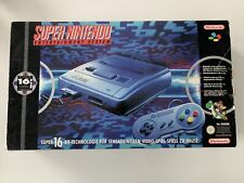 Super Nintendo SNES Konsole Super Mario World Edition OVP #466