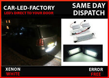 VAUXHALL ZAFIRA CDTI 05-11 LED LIGHT UPGRADE NUMBER PLATE LIGHTS 7000K x2(pair)