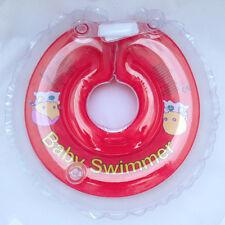 BabySwimmer Schwimmhilfe Original Halsschwimmring Badekragen 6-36 kg Rot