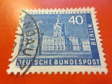 1956-mi.nr.149 - 40 PFG città immagini (II) Castello charlottenb. - Gest. M. falzr.