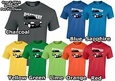 Lumipix 4x4 Discovery Inspired Series 2 Landrover Mens off road T-Shirt