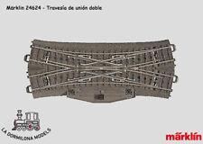 VT24624 - H0 Märklin 24624 Travesía de unión doble - NUEVO (C.145)
