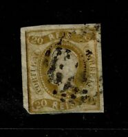 Portugal SC# 19. Used, multiple Hinge Remnants, see notes - S6544
