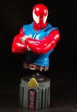 SCARLET SPIDER-man mini bust/statue~Amazing~Bowen Designs~Avengers~NIB