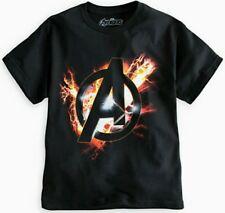 The Avengers T-Shirt Size LARGE Mens Adult New Short Sleeve Cotton Logo