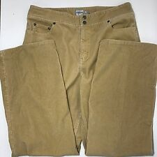Chicos Corduroy Pants 3 Chico's Tan Cotton Blend Casual Pants Inseam 31 in