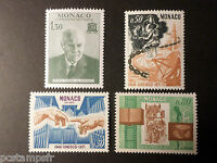 MONACO 1971 timbres 855/858 UNESCO, neufs**, PRINCE PIERRE, VF MNH STAMPS