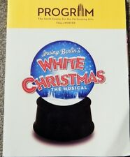 WHITE CHRISTMAS THE MUSICAL (SMITH CENTER LAS VEGAS 2016 PROGRAM) LORNA LUFT