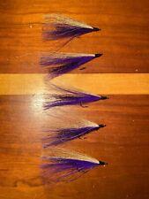 Bucktail River Streamer Flies- Hand Tied - Walleye, White Bass, Salmon (194)
