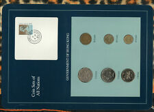 Coin Sets of All Nations Hong Kong 1979-1996 UNC $1 1996 $2 1994 $5 1988