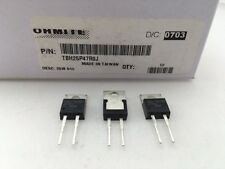(3 pcs) TBH25P47R0J Ohmite, 25 Watt 47 Ohm 5%, High Power, Thick Film Resistor