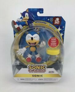 "Sonic The Hedgehog 30th Anniversary Figure 4"" Sonic Jakks Pacific NEW"